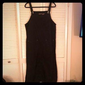 {Vintage}100% cotton overall style boho maxi dress